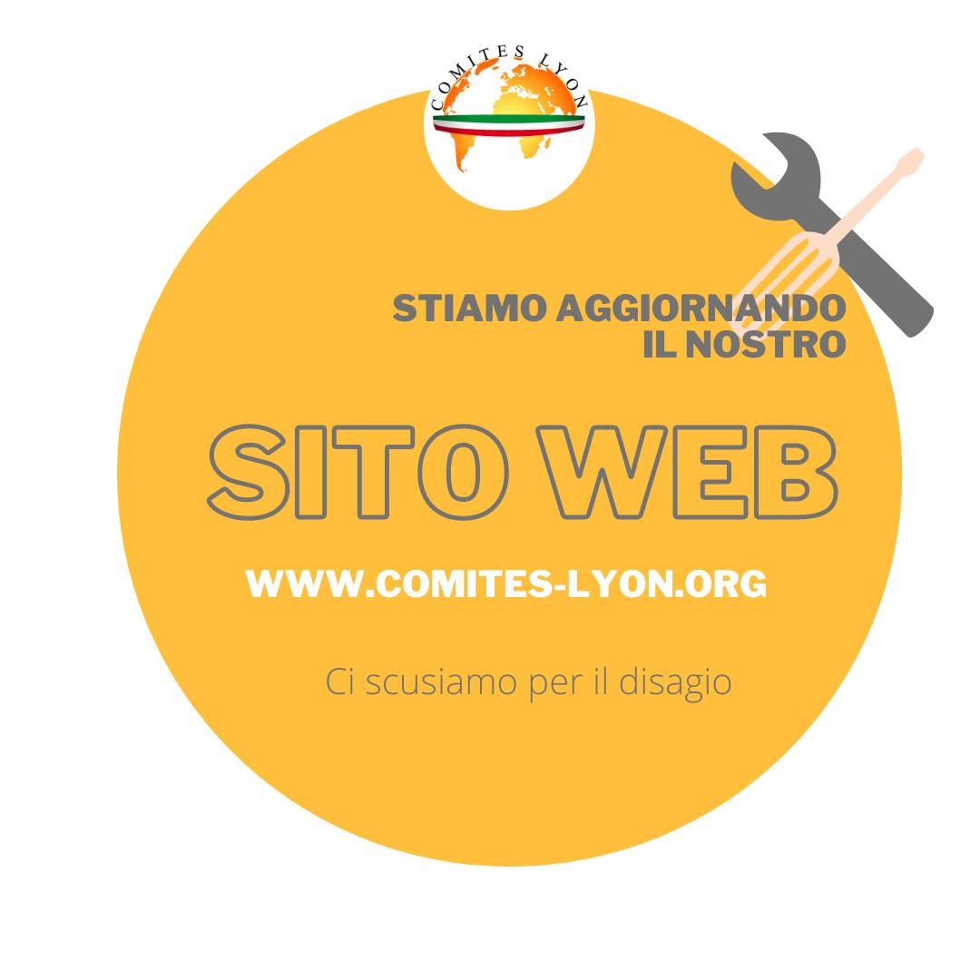 aggiornamento sito web-comites-lyon