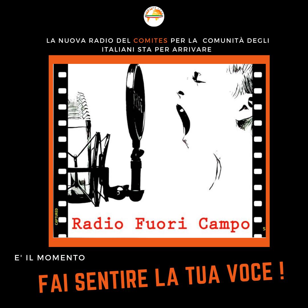 La nuova radio italiana del Comites di Lione. Scopri il palinsesto !