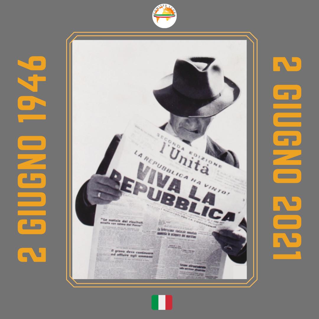 Felice Festa della Repubblica Italiana