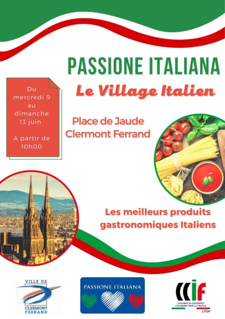 I LVILLAGGIO ITALIANO a Clermont insieme alla scuola Dante Alighieri @ Villaggio Italiano | Clermont-Ferrand | Auvergne-Rhône-Alpes | Francia